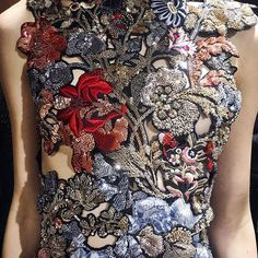 The @worldmcqueen garden is in full bloom for #ss16. See the full collection on Vogue.com. #pfw