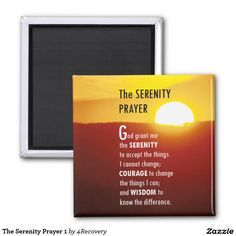 The Serenity Prayer 1 Magnet