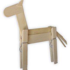 Clothespin Horse