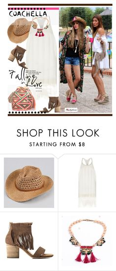 """""""boho summer style"""" by paculi ❤ liked on Polyvore featuring River Island and nastydress"""
