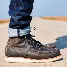 Boots & denim.