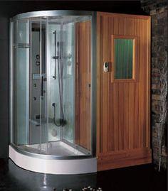Ariel Platinum DS205 : Steam Shower #SteamShower #ShowerPanel #BathroomRemodel #BlondyBathHome