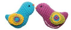 Tutorial: pajaritos amigurumi (crochet) / Amigurumi birds