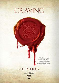 cover CRAVING - Jo Rebel #StayVampire #Vampiri #Vampire #romanzo #urbanfantasy