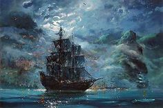 Okay, yes, it's a pirate ship and I love it.