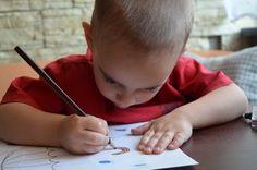Z dziećmi, dla dzieci, o dzieciach: Projekt tęcza- dzień granatowy
