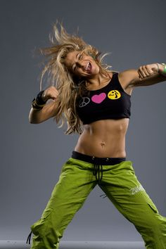 Zumba for energy, core strength and rhythm