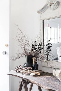 Using a lot of white, Lisa balances it with depth, neutral tone and texture. She honours the old while mixing in the new; think original hardwood floors meets stainless steel and concrete kitchen. Concrete Kitchen, Diy Renovation, Cottage, Rustic Style, Dream Decor, Holiday, Country Decor, Holiday Cottage, Latest Interior Design Trends