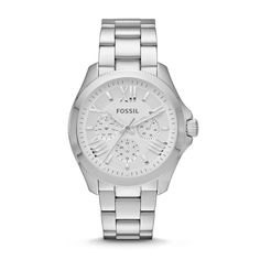 Fossil Cecile Multifunction Stainless Steel Watch AM4509 | FOSSIL® This is just like my old watch, but better! NEED THIS!