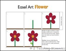 I came across Easel Art Pages on Making Learning Fun this summer. I love how they give visual step by step instructions on how to paint different things! I decided to give it a try and created this flower one for you. Visual Steps, Flower Center, Plantar, Art Pages, Learn To Draw, Easel, Fun Learning, Step By Step Instructions, Trees To Plant