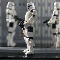 Lego Robot, Lego Mecha, Legos, Lego Buildable Figures, Lego Universe, Lego Custom Minifigures, Lego Creative, Star Wars Design, Lego Military