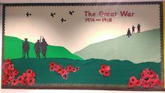 WW1 Classroom display