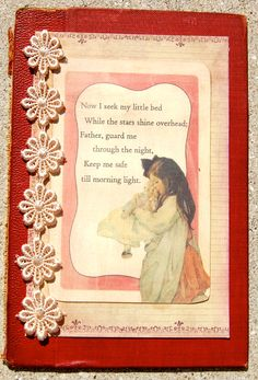 vintage night time prayers book cover