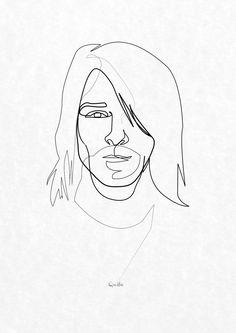 Quibe - One Line Kurt Cobain