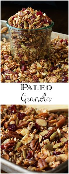 This Paleo Granola is something you have to try, n…
