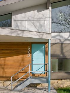 3555 Residence, Contemporary Entry, Kansas City
