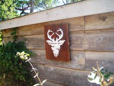 Rustic Reindeer,Reindeer Art,Canadian Art,Wood Reindeer Sign,Wildlife Decor,Wood Wall Art,Reclaimed Wood Art,Cabin Decor,Boho Christmas Art, by BlackCrowCurios on Etsy