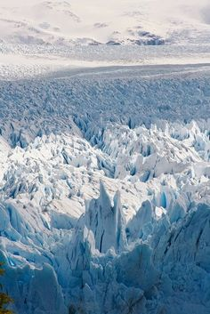 The Perito Moreno Glacier, Los Glaciares National Park, Santa Cruz, Argentina #Photography #Breathtaking