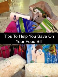 Tips To Help You Save On Your Food Bill - a great resource list.  Tips vary so all families will find something to help them reduce their bill! - great tips , worth a read
