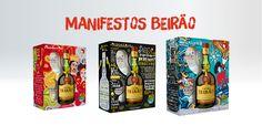 """Três novas embalagens acolhem outros tantos """"Manifestos"""" que celebram o Futuro, o Amor e a Amizade, à luz de momentos e valores marcantes da história de Portugal."""