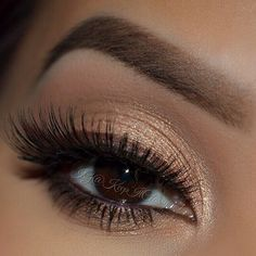 Use brown gel eyeliner instead of black for a softer effect.