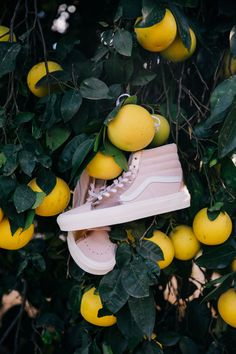 A pair of pink Vans that'll let you stomp out cramped footsies and make sure you technically never need to sit again Custom Jordan Shoes, Custom Vans Shoes, Vans Girls, Girls Shoes, Customised Vans, Design Your Own Shoes, Vanz, Pink Vans, Vans Outfit