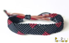 Best 12 Macrame Bracelet/Men's Macrame Bracelet/Surf – SkillOfKing. Thread Bracelets, Thread Jewellery, Macrame Bracelets, Bracelets For Men, Handmade Bracelets, Bracelet Men, Macrame Art, Macrame Knots, Micro Macrame