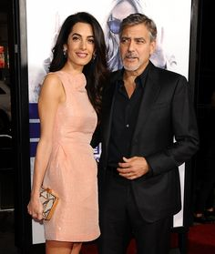 REPORT: Amal Clooney is Pregnant, Expecting First Baby with Husband George Clooney!