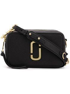 Marc Jacobs Softshot 27 Black Leather Shoulder Bag In 001 Black Marc Jacobs Handbag, Marc Jacobs Bag, Leather Bag, Black Leather, Jacob Black, Black Cross Body Bag, Fashion Labels, Purses And Handbags, Crossbody Bag