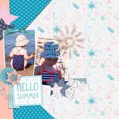 Summer Day Collab at Pixelscrapper