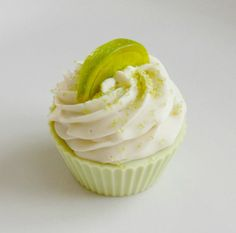 Key Lime Cupcake Soap by BakedSoapCo on Etsy, $6.50