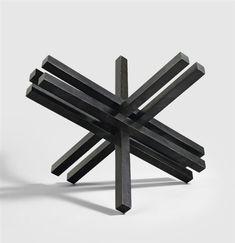 abstrakcja konkretna   Max Bill – Kern aus doppelungen, 1968