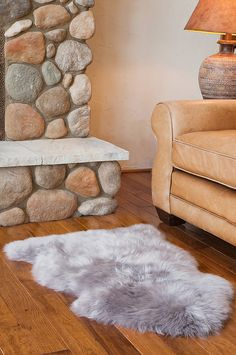 Single-Pelt Long Wool Australian Sheepskin Rug by Overland Sheepskin Co. Teddy Bear Design, Bear Rug, Sheepskin Rug, Up House, Farm House, Cow Hide Rug, Soft Furnishings, Area Rugs, At Least