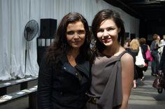 Emma and Ali Hewson at Edun's S/S 2013 show #nyfw