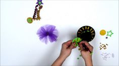 Make your own Mardi Gras Hat!  www.creativehands.com