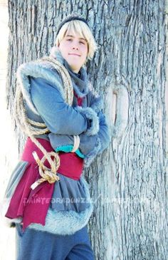 Kristoff Cosplay. His hair needs to be a bit darker.