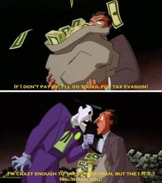 Even The Joker's Insanity Has Limits