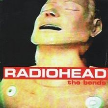 The Bends - Radiohead, cover by Stanley Donwood, the pen name of English artist and writer Dan Rickwood.