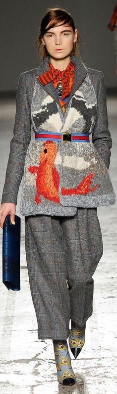 Winter colours me                        :           Stella Jean Fall 2014 Ready-to-Wear