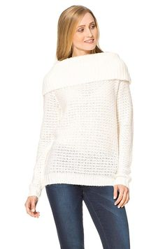Flauschiger Pullover - STRICKPULLOVER - PULLOVER - COLLECTION