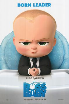 The new Alec Baldwin Boss Baby poster artwork is now available! We're really excited for the Boss Baby movie to come out.   Looking for a poster? Come check out the worlds leading movie poster website @ www.movieposter.com