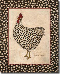 Spotted Chicken