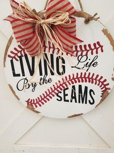Wood Plaque Softball Decor Never Let The Fear Quote Baseball Decor Home Plate TBall Baseball Mom Gift Coach Gift Rustic Wall Hanging
