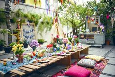 Boho-Tribal-Birthday-Party-via-Karas-Party-Ideas-KarasPartyIdeas.com13.jpeg 700×467 pixels