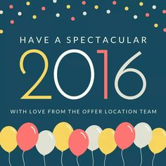 May this 2016 New Year Give you lot of joy and happiness and fill your home with lot of love...Wish you & your family a great New Year. (offerlocation.com)