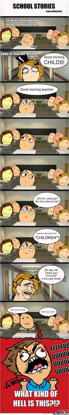 School story funny meme   Funny memes and pics