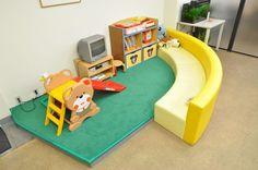 【藤和ハウス久米川店 キッズスペース写真】 キッズスペースをご用意しておりますので、小さなお子様が一緒でも安心です。