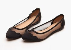 Scalloped ballerinas - interesting