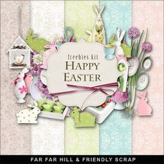 Wednesday's Guest Freebies -Far Far Hil Free digital scrapbook supplies