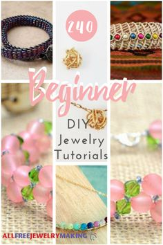 So, you are ready to become a jewelry maker? You are in luck because this collection, How to Make Jewelry: 171 Beginner DIY Jewelry Tutorials, is perfect for you. Designing your own jewelry is a ton of fun. Do It Yourself Jewelry, Design Your Own Jewelry, Make Your Own Jewelry, Jewelry Design, Wire Jewelry Making, Jewelry Tools, Jewelry Crafts, Jewellery Box, Jewellery Shops